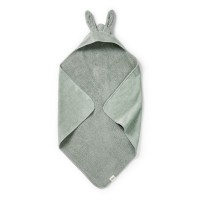 Elodie Details полотенце с капюшоном после купания Mineral Green