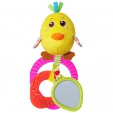 """Chicco игрушка-погремушка """"Птенчик"""" 3-24м"""