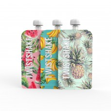 Набор многоразовых пакетов (3 шт) Twistshake для детского питания (Squeeze Bag) 220 мл. 4+
