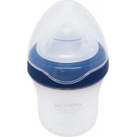 Mother-K силиконовая бутылочка Blueberry 180мл