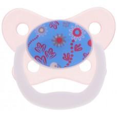 Dr. Brown's Пустышка PreVent Бабочка Цветы от 6 до 12 месяцев, цвет розовый
