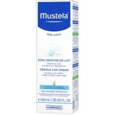Крем для кожи головы Mustela Bebe при молочных корочках, 40 мл