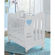 Кровать Micuna Wonderful (Микуна Вандефул) 120*60 white/
