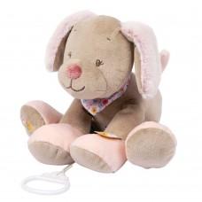 Игрушка мягкая Nattou Musical Soft toy (Наттоу Мьюзикал Софт Той) Iris & Lali Собачка музыкальная 631068