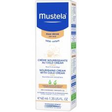 Крем детский Mustela с кольд-кремом питательный, 40 мл