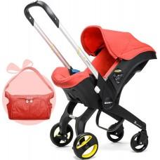 Автокресло Doona Love, с сумкой, SP150-20-503-015, красный, до 13 кг