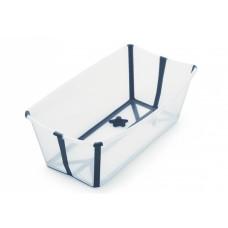 Stokke FLEXI BATH Складная ванночка XL цв.Transparent Blue