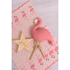 Одеяло Bizzi Growin (Биззи Гровин) Flamingo 75*100 вязанное BG032