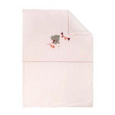 Плед Nattou (Наттоу) 100*135см Adele & Valentine Слоник и Мышка 424448