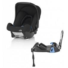 Britax Roemer автокресло Baby-Safe Cosmos Black Trendline + база ременная