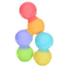 Набор игрушек Happy Baby для ванной IQ-Bubbles 6 шт, размер 80 х 100 х 280, мм