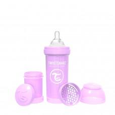 Антиколиковая бутылочка Twistshake Pastel для кормления 260 мл.