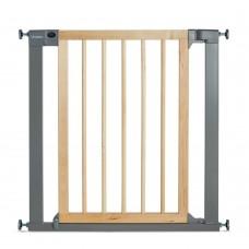 Munchkin ворота безопасности дерево Easy Close 75-82 см