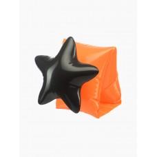Нарукавники для плавания orange&black
