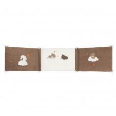 Бортик Nattou (Наттоу) Mia & Basile Кролик и Мишка для кровати универсальный 562355