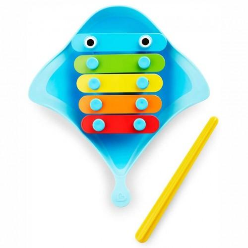 "Игрушка музыкальная для ванны Munchkin ""Скат"" для ванной"