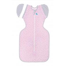 Пелёнка-кокон Swaddle UP 50/50 Lite. Розовый (Pink)