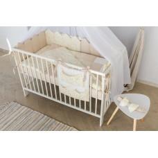 Комплект постельного белья для кроватки 7 предметов MARTOO Mosaik