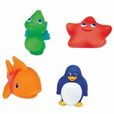 Munchkin игрушки для ванны Морские животные 4шт от 9 мес