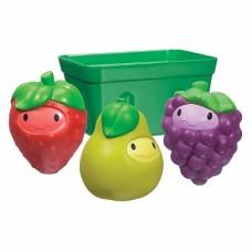 Munchkin игрушки для ванны фрукты в корзине 9+