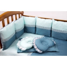 Комплект белья в прямоугольную кроватку «Арабеска» Royal Baby