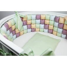 Комплект белья в кроватку «Карамельки» Royal Baby