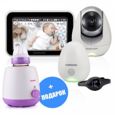 Видеоняня Samsung SEW-3057WP (подогреватель Ramili Baby BFW200 в подарок)