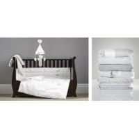 Набор белья Handmade with love (одеяло, покрывало, бампер, мобиль, игрушки, матрасик для пеленания)