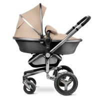 Детская коляска 2 в 1 Silver Cross Surf 2 на шасси и раме Graphite (графит)