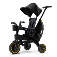 Складной трехколесный велосипед Doona Liki Trike Limited Edition Midnight