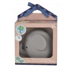 Игрушка из каучука Tikiri Слон в подарочной упаковке