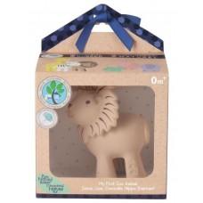 Игрушка из каучука Tikiri Лев в подарочной упаковке
