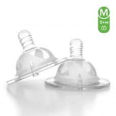 Соска антиколиковая Twistshake (2 шт). Размер M (2+m)