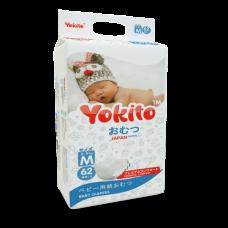"Подгузники на липучках YOKITO PREMIUM ""M"" 5-10 кг."